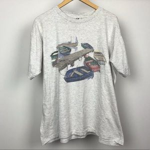 Vintage Northern Reflections Boat T-shirt